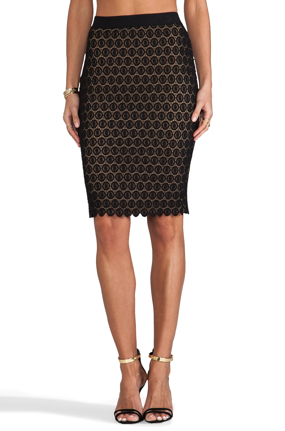 Bailey 44 Simone Skirt in Black