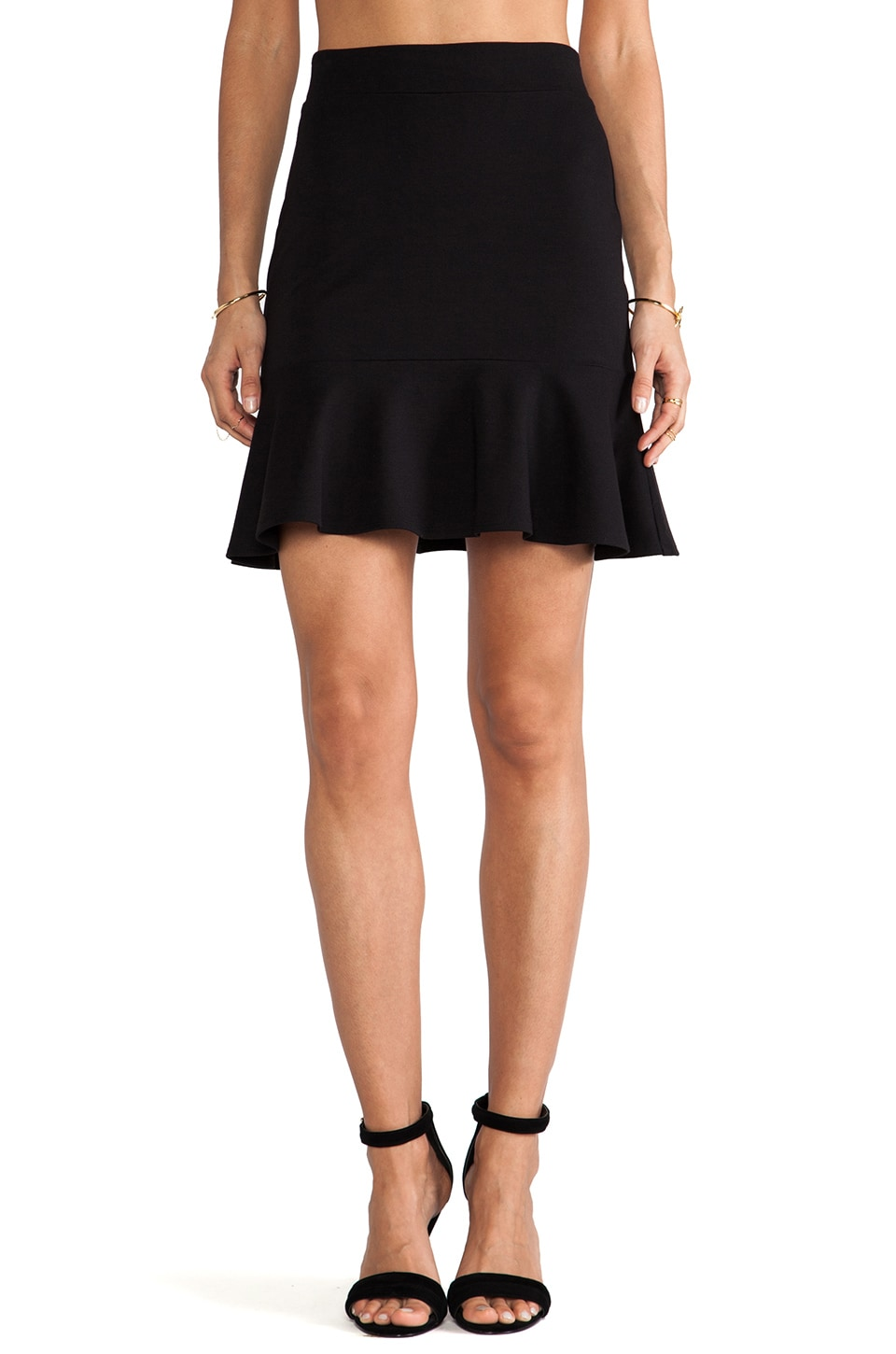 Bailey 44 Afro Salsa Skirt in Black