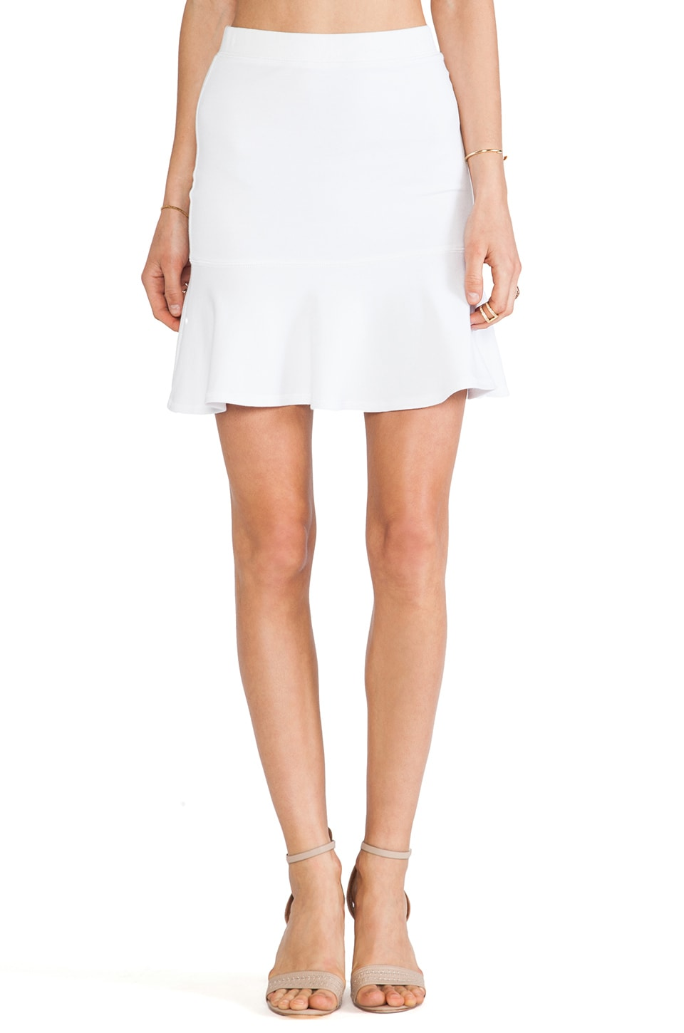 Bailey 44 Scorpion Skirt in White