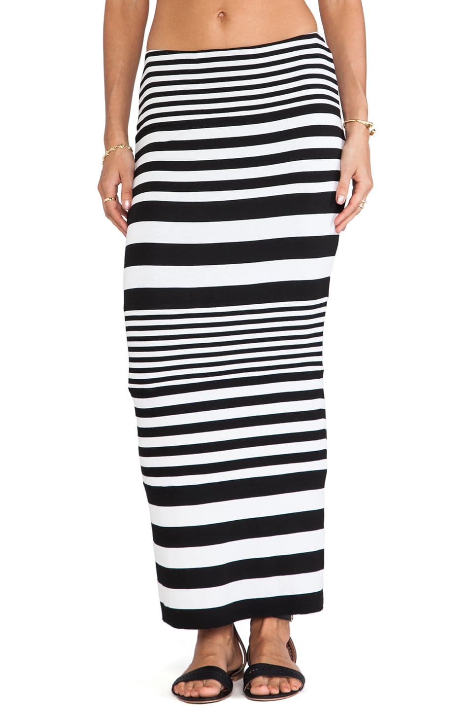 Bailey 44 Street Art Skirt in Stripe