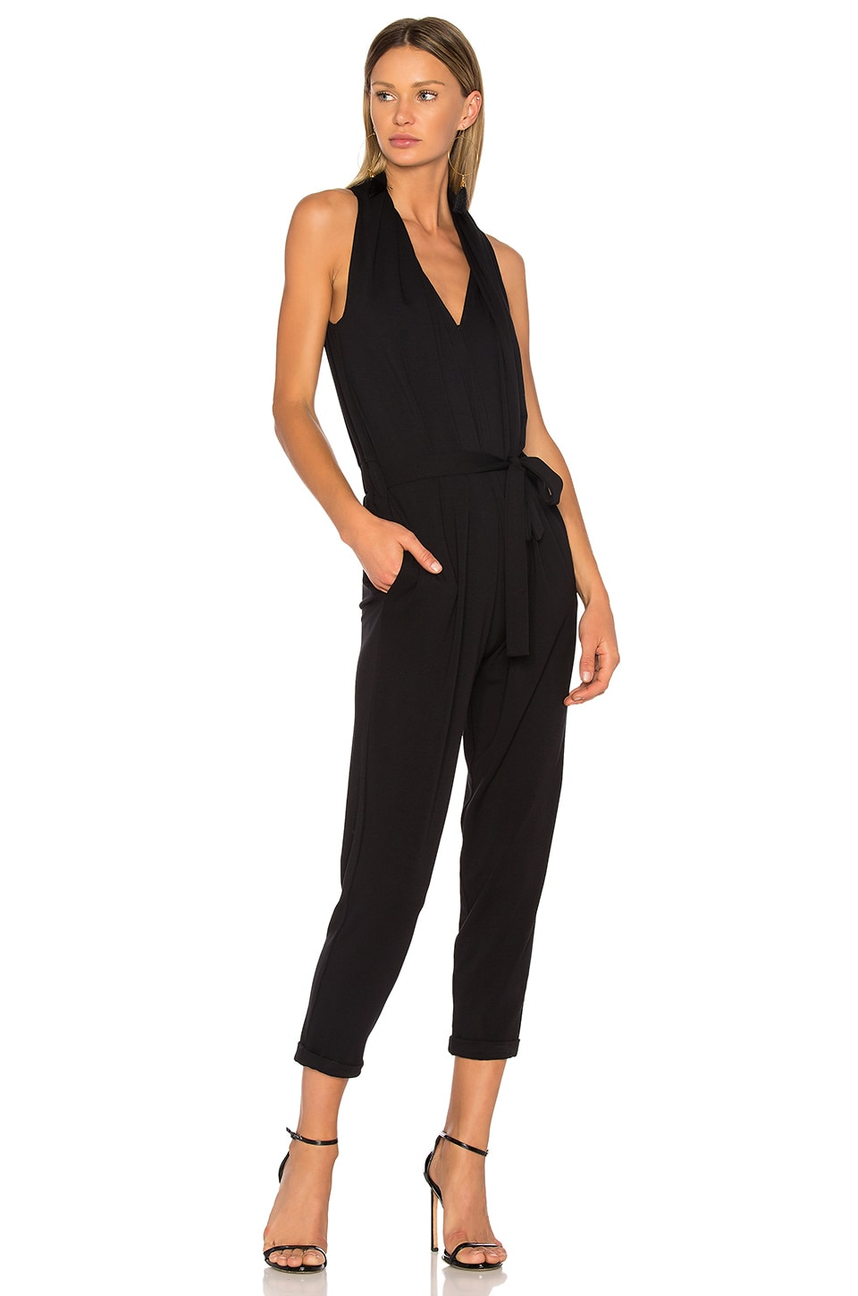 Bailey 44 Jerk Chicken Jumpsuit in Black