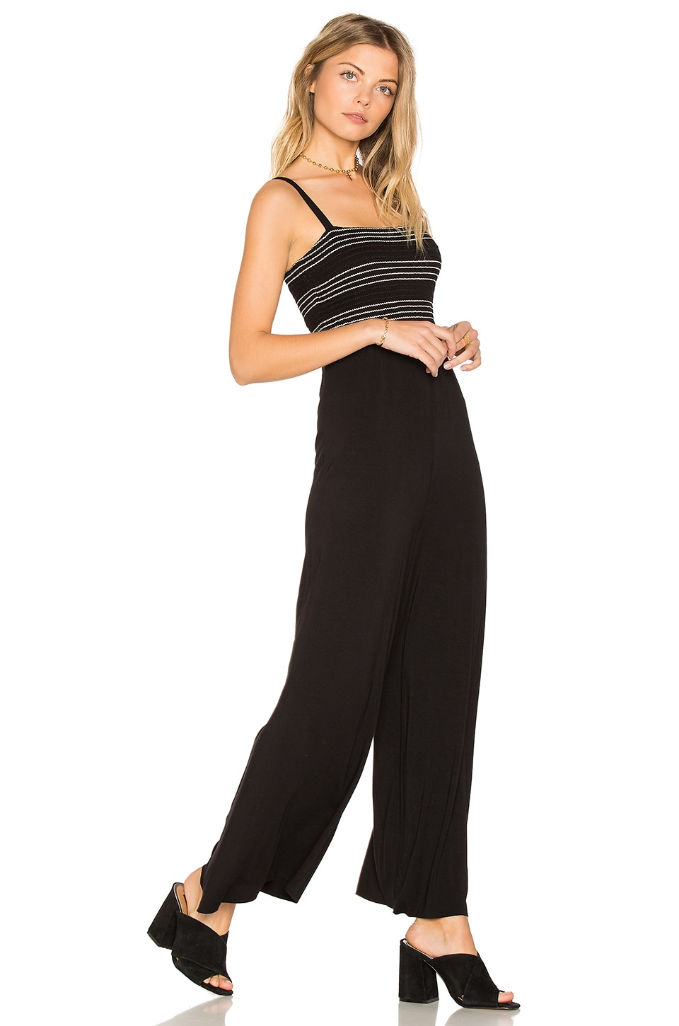 Bailey 44 Long Jump Jumpsuit in Black