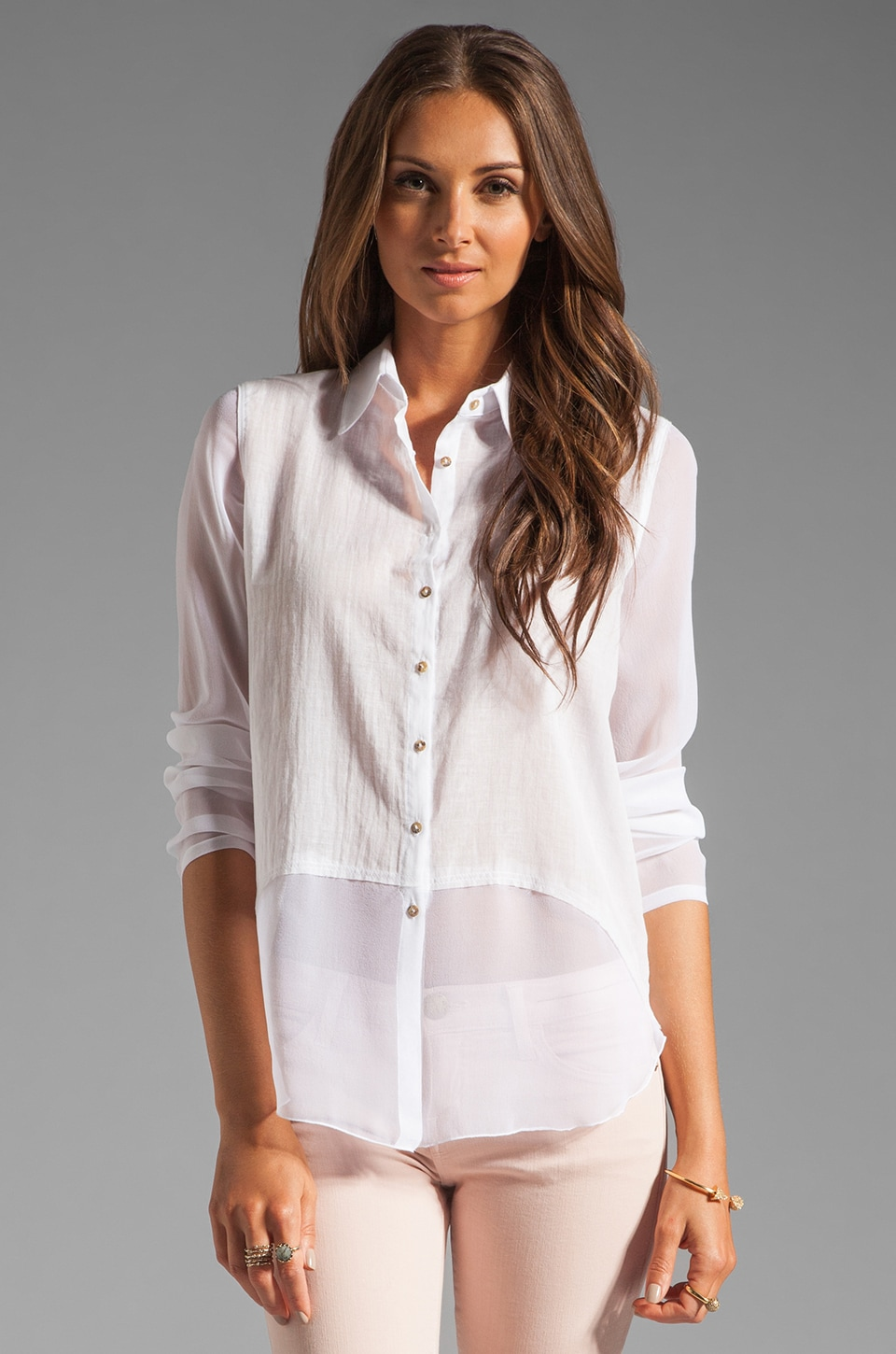 Bailey 44 Skeet Shooting Shirt in White