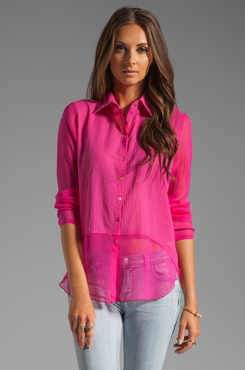 Bailey 44 Skeet Shooting Shirt in Pink