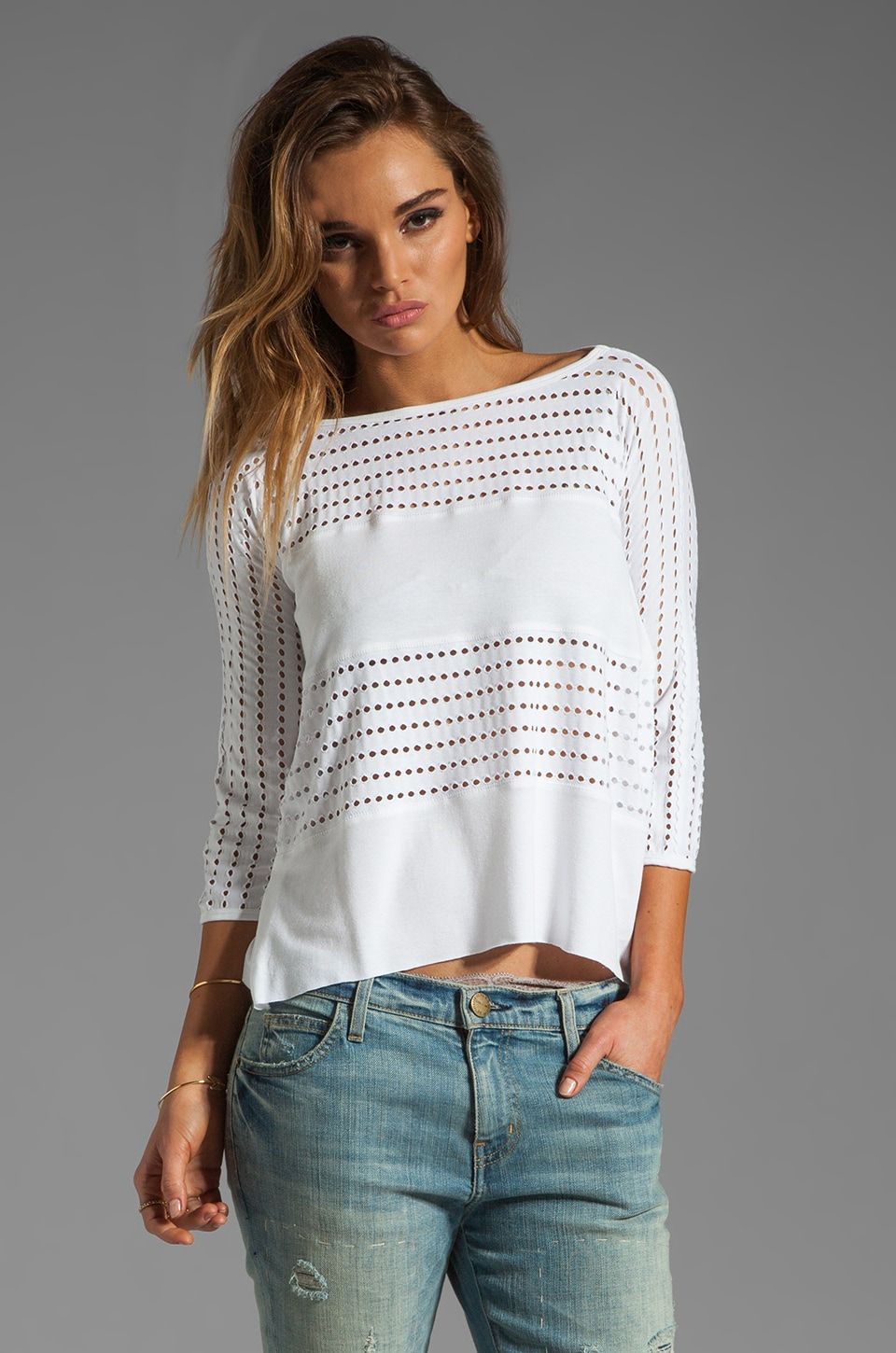 Bailey 44 Tomb Top in White