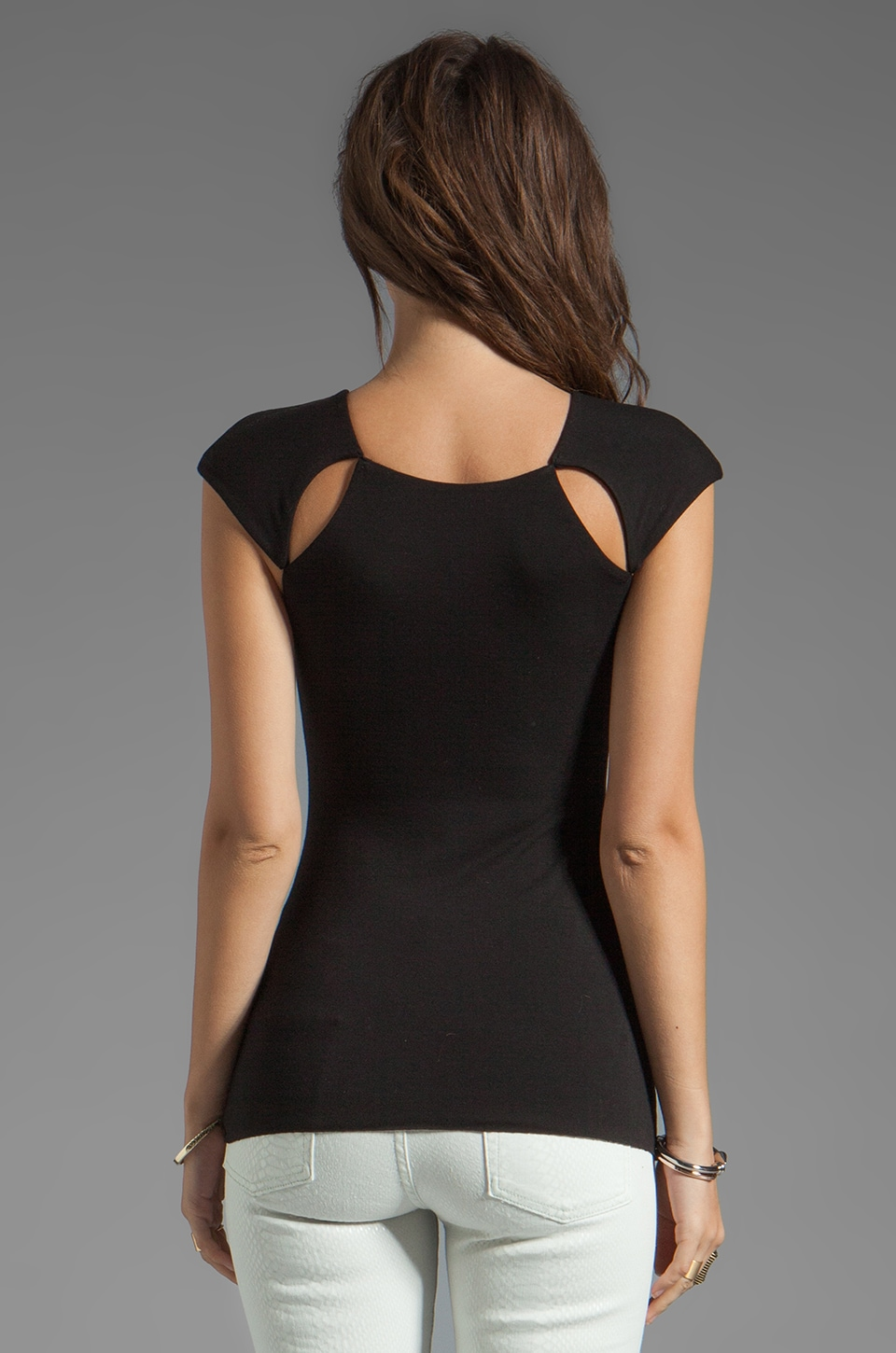 Bailey 44 Pit Stop Top in Black