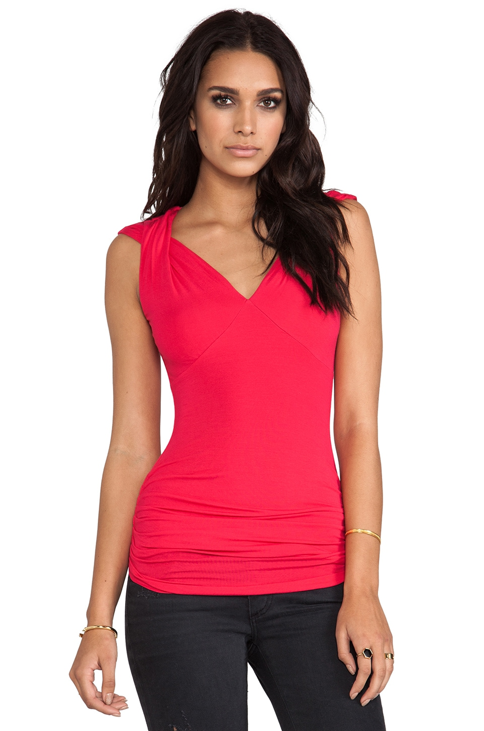 Bailey 44 Trance Music Top in Rose