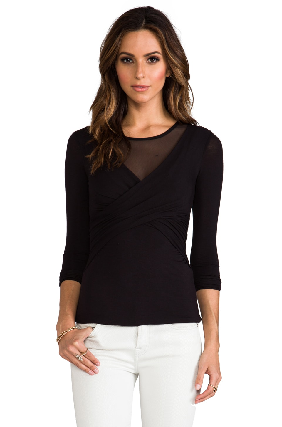 Bailey 44 Celestial Body Top in Black