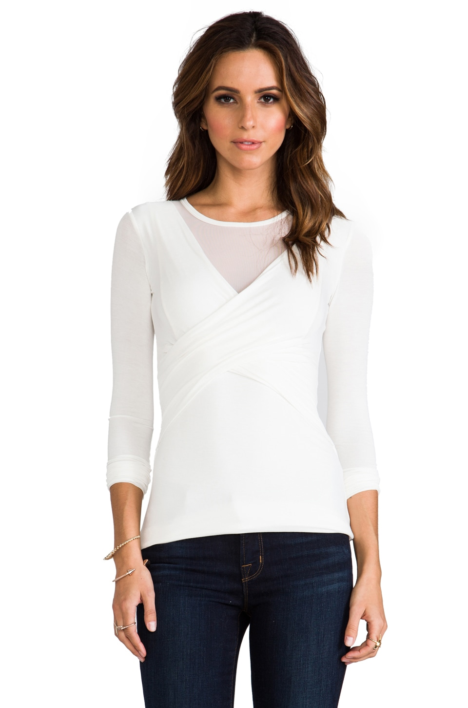 Bailey 44 Celestial Body Top in Chalk