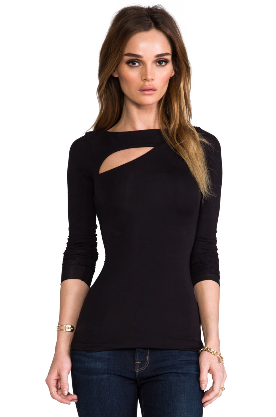 Bailey 44 Hale-Bopp Top in Black