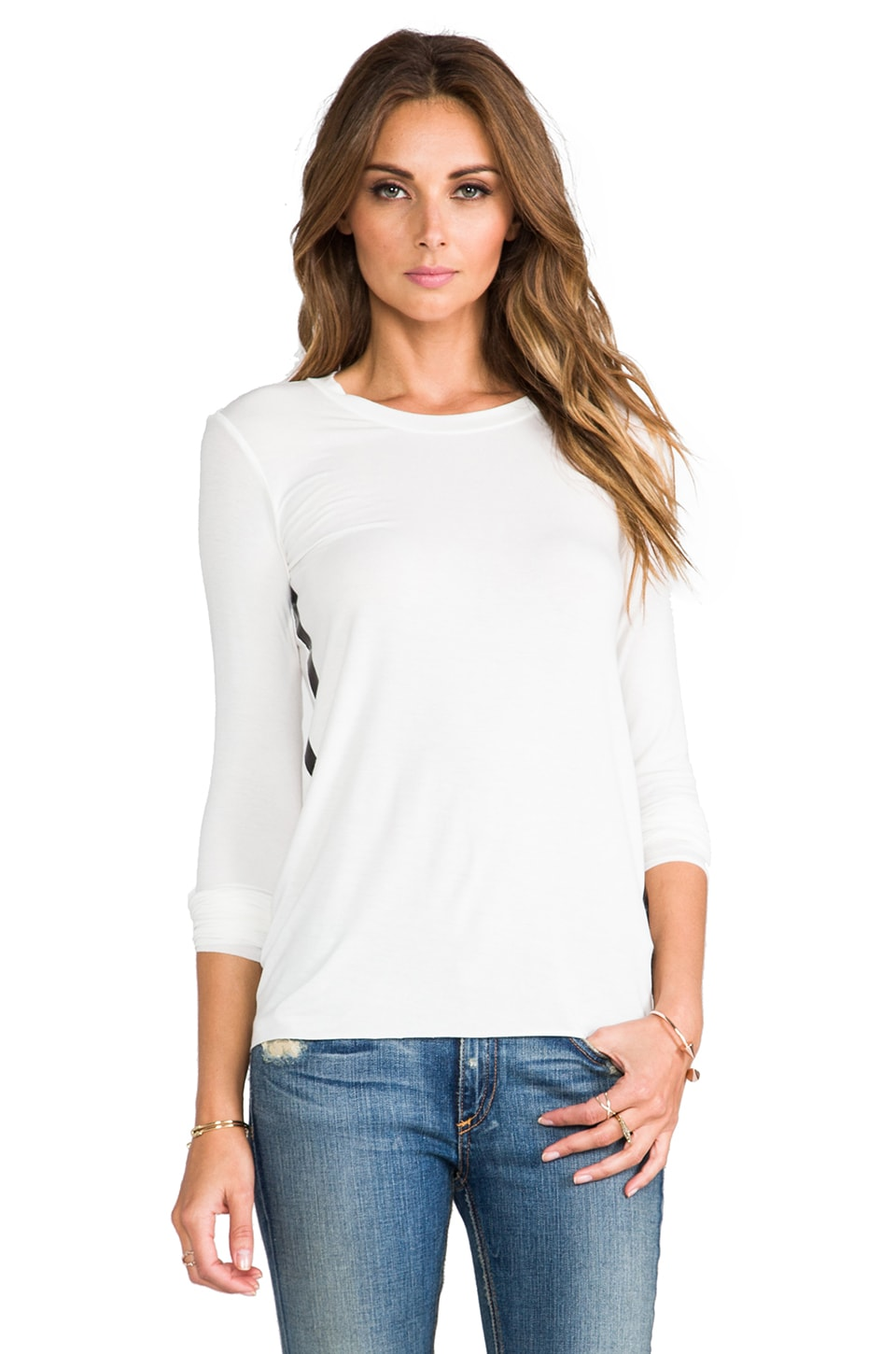 Bailey 44 Blast Off Top in Chalk/Black