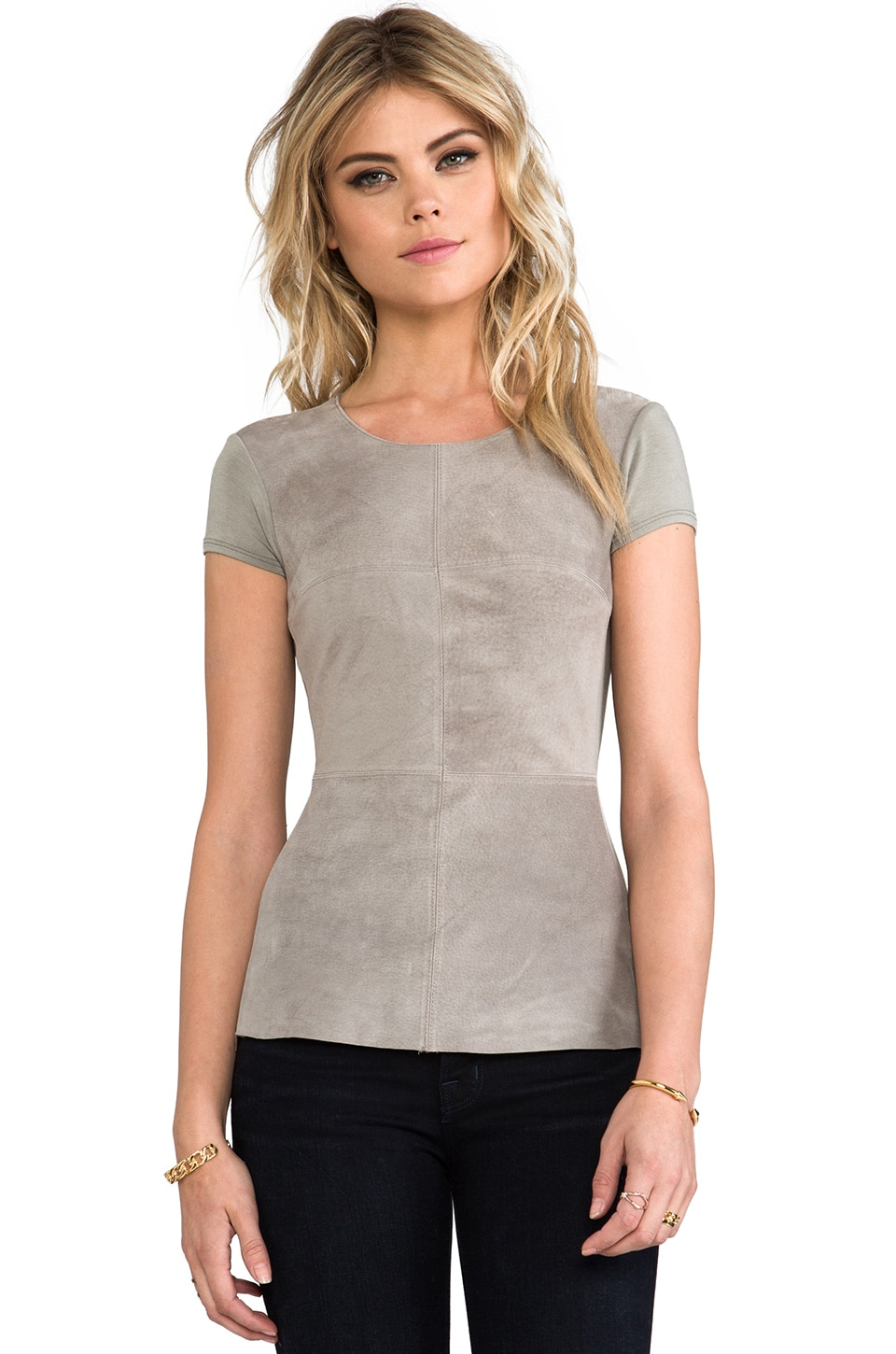 Bailey 44 Chick Flick Top in Elephant