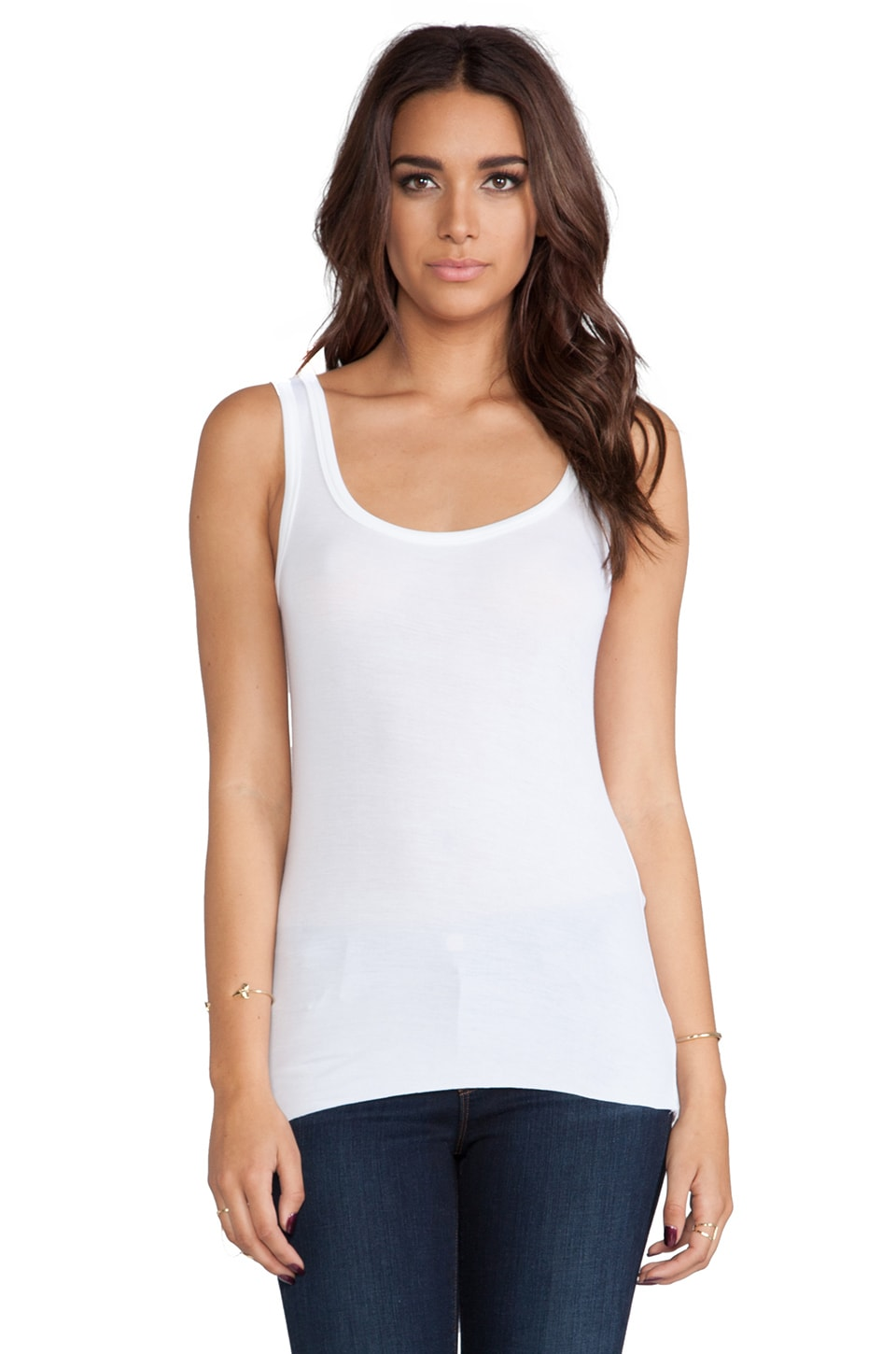 Bailey 44 Core Solid Tank in White