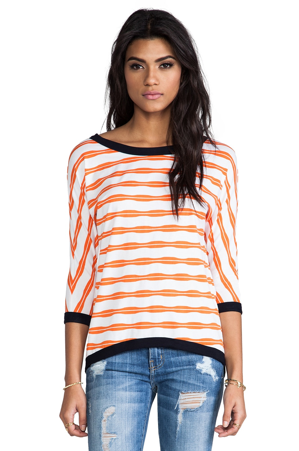 Bailey 44 Double Back Top in Orange