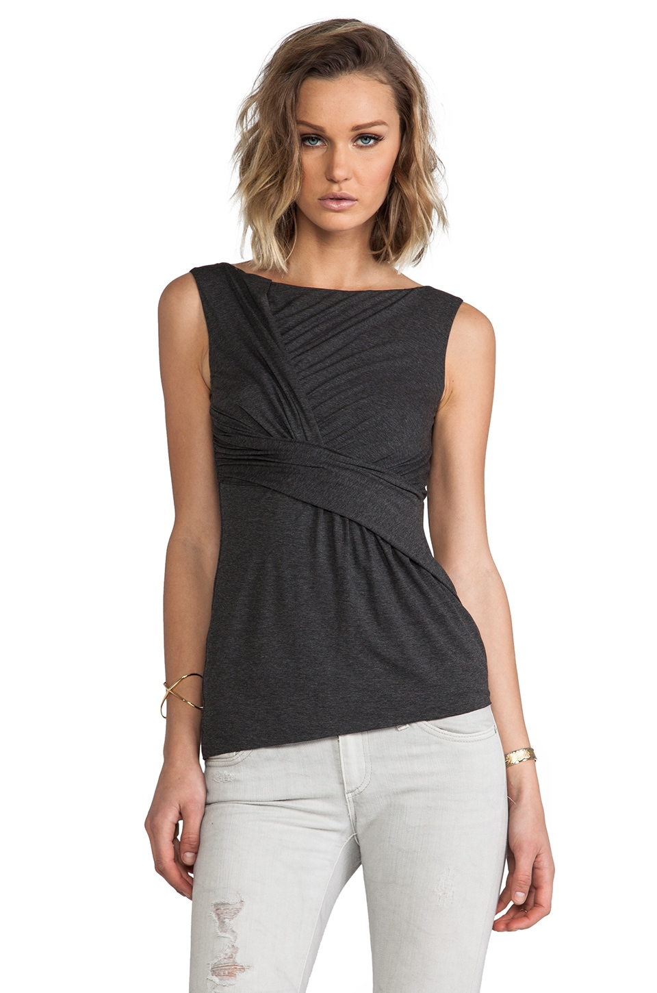Bailey 44 Lana Top in Charcoal