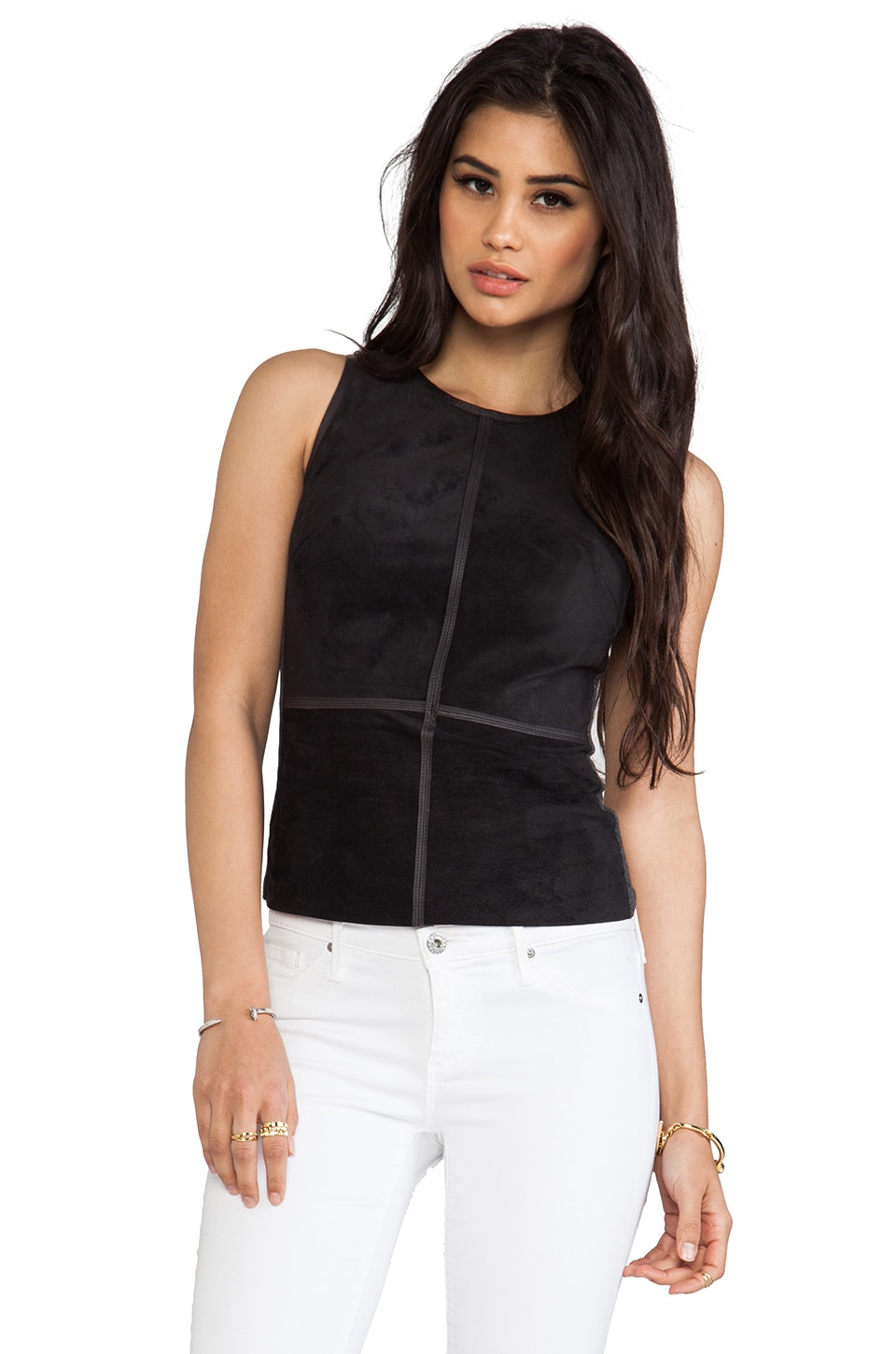 Bailey 44 Kelly Top in Charcoal