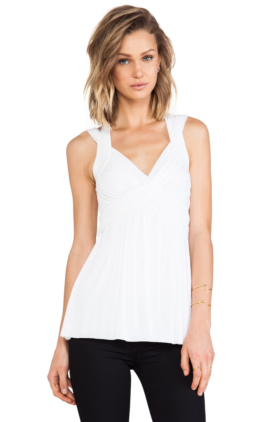 Bailey 44 Carol Top in White