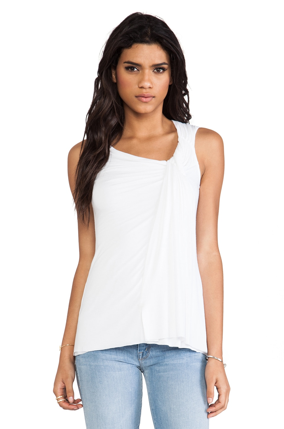 Bailey 44 Tripoli Top in White