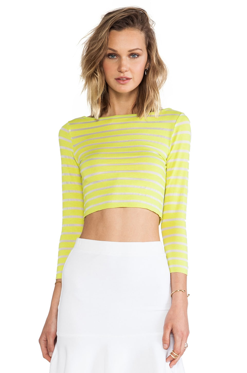 Bailey 44 Tropical Bliss Top in Chartreuse