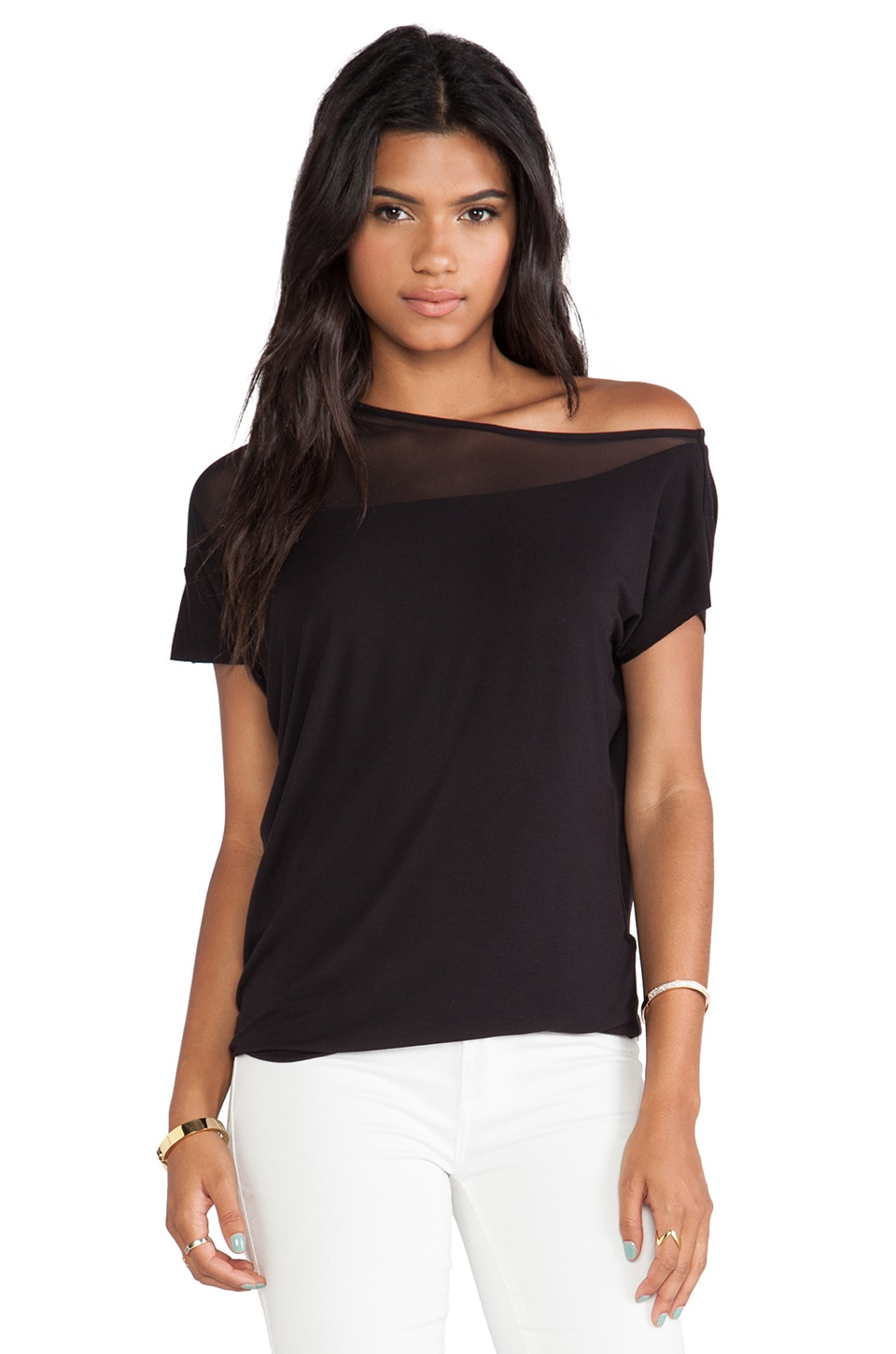 Bailey 44 Manifesto Top in Black