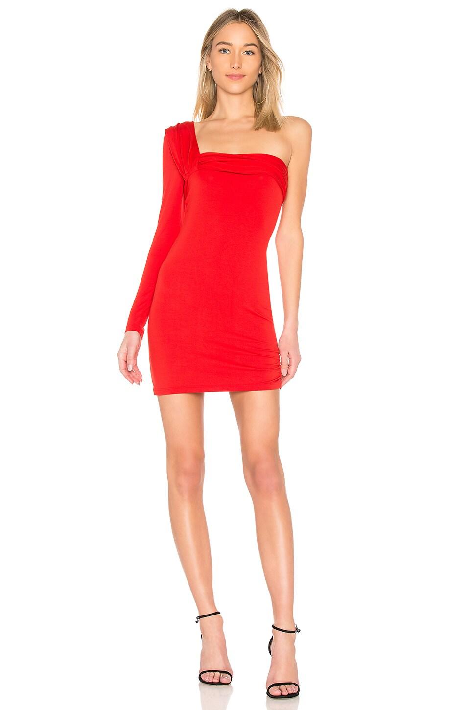 x REVOLVE One Shoulder Mini Dress by Baja East