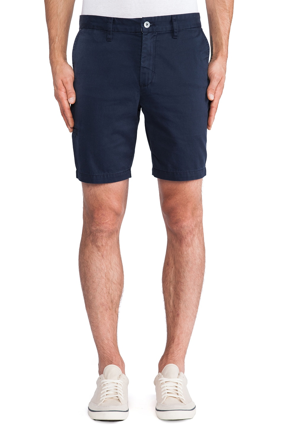 baldwin The Ryan Short in Navy