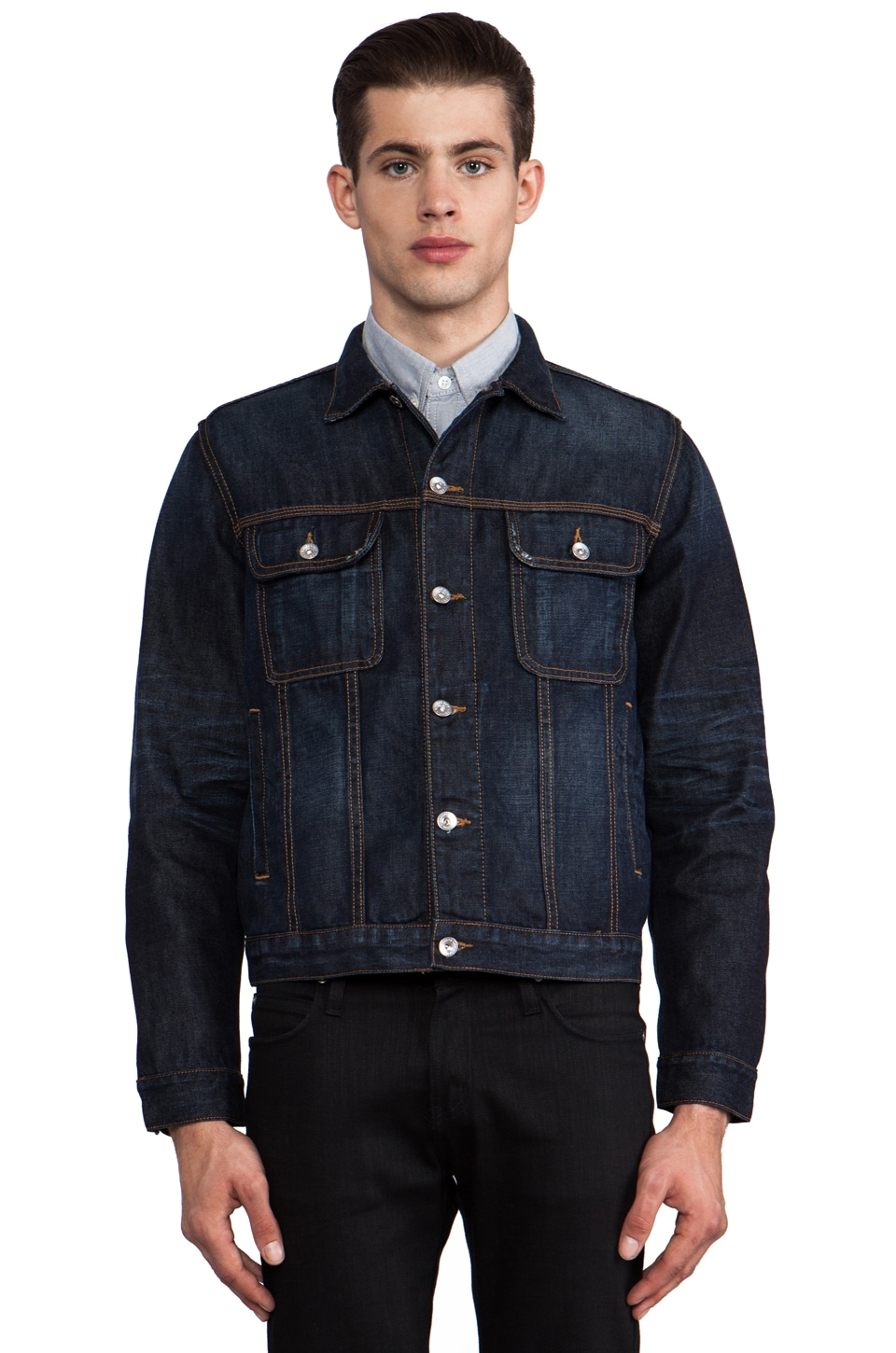 baldwin The Aaron Denim Jacket in New Hampshire