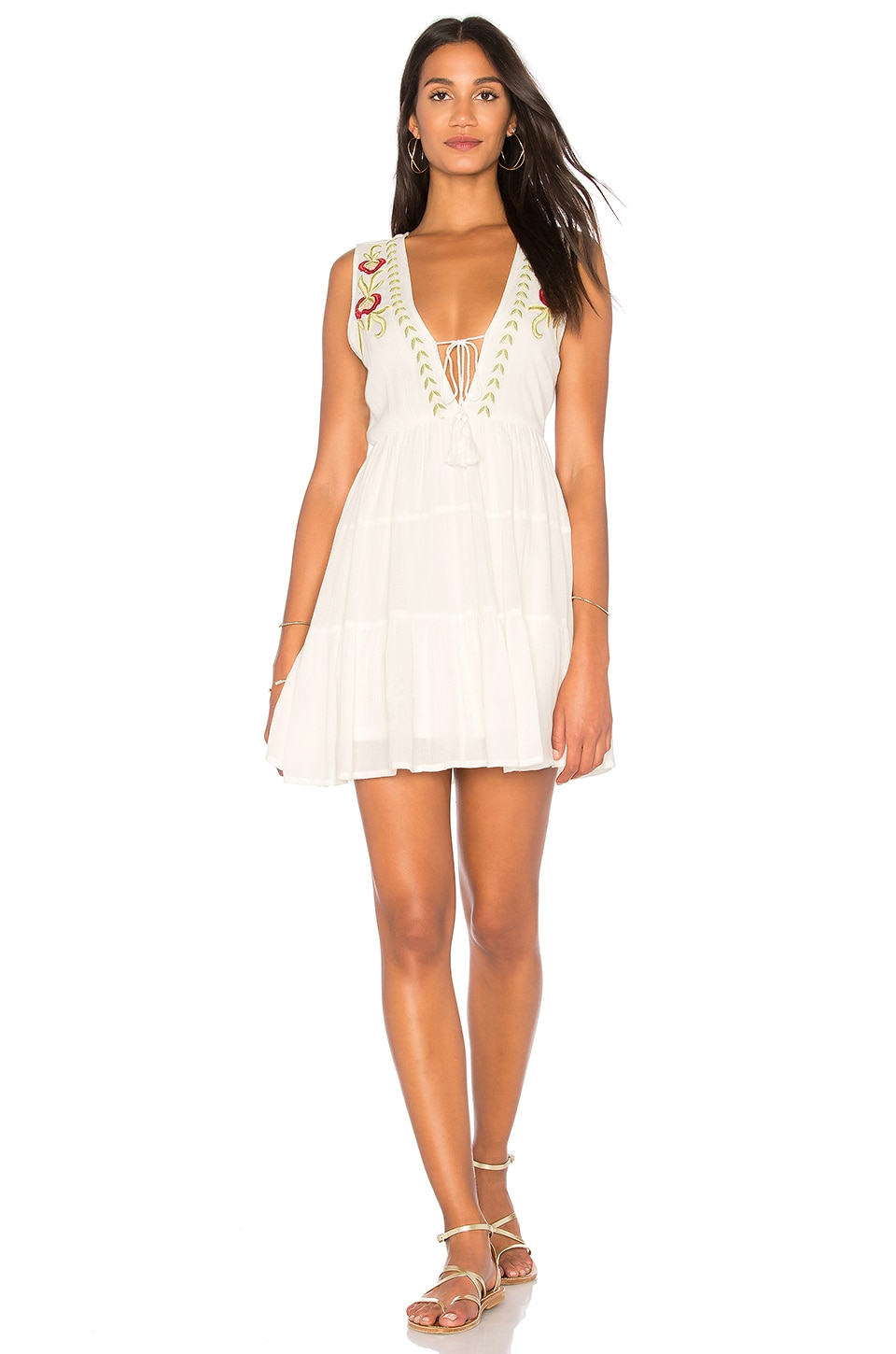 Embroidered Babydoll Dress by Band of Gypsies