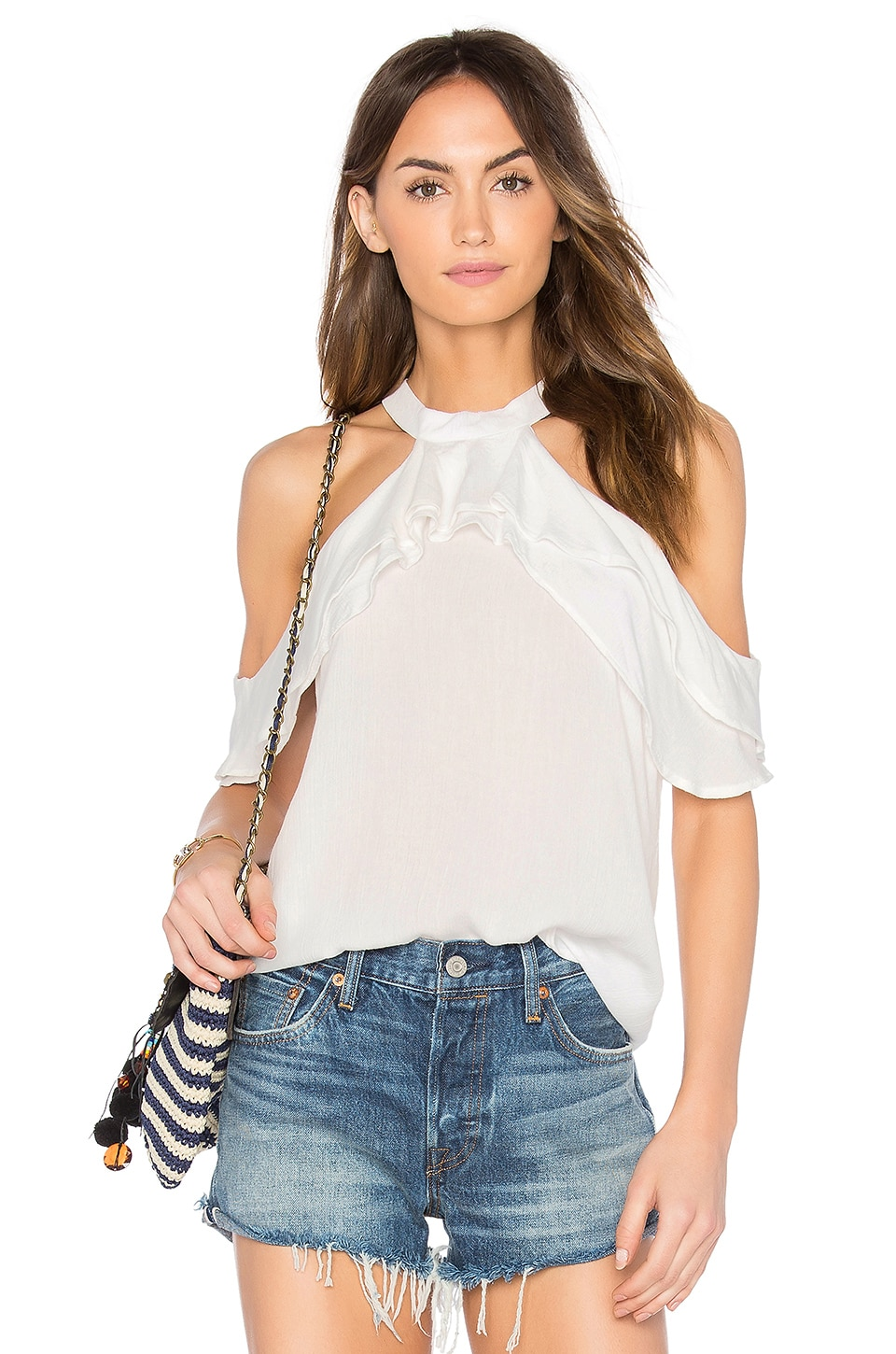 Ruffle Blouse by Band Of Gypsies