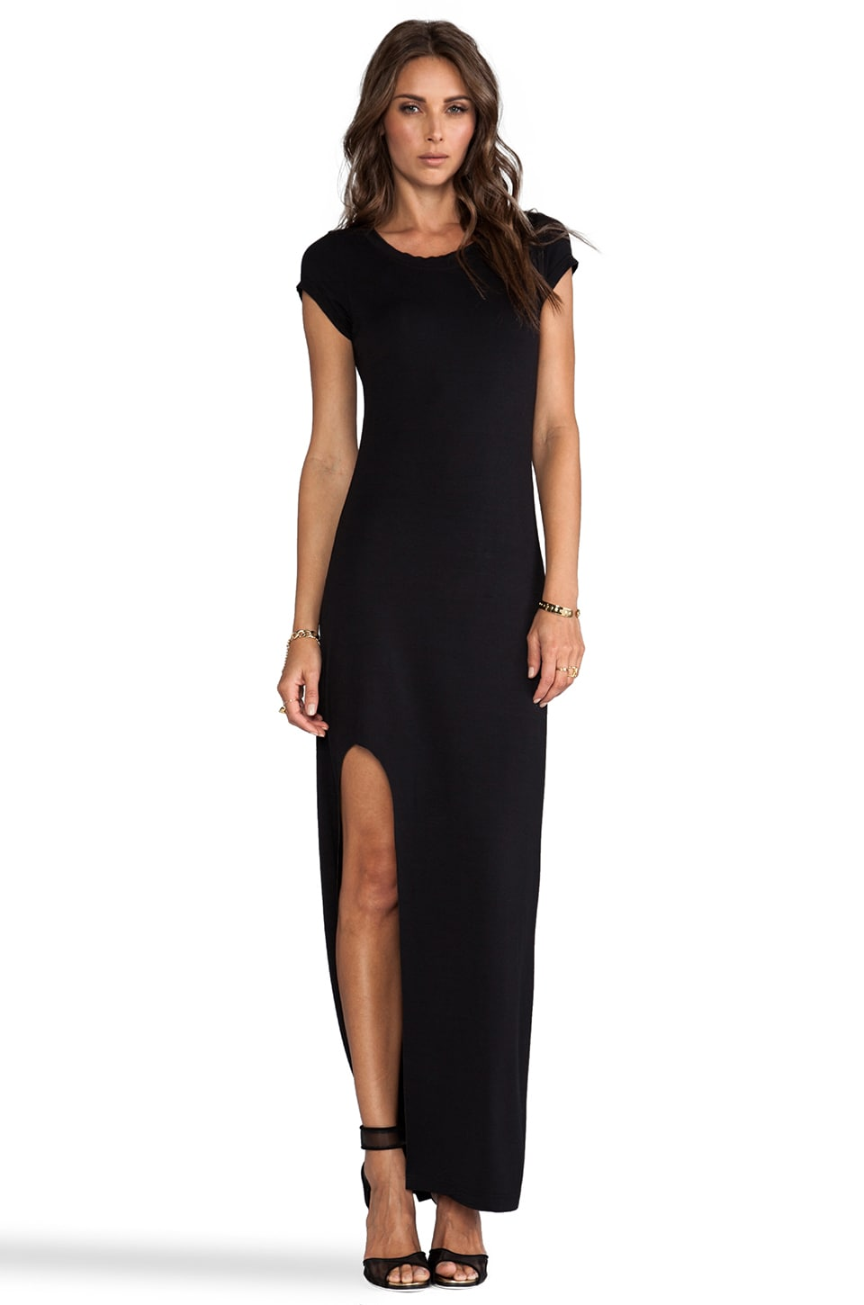 Bardot Bondi Maxi Dress in Black
