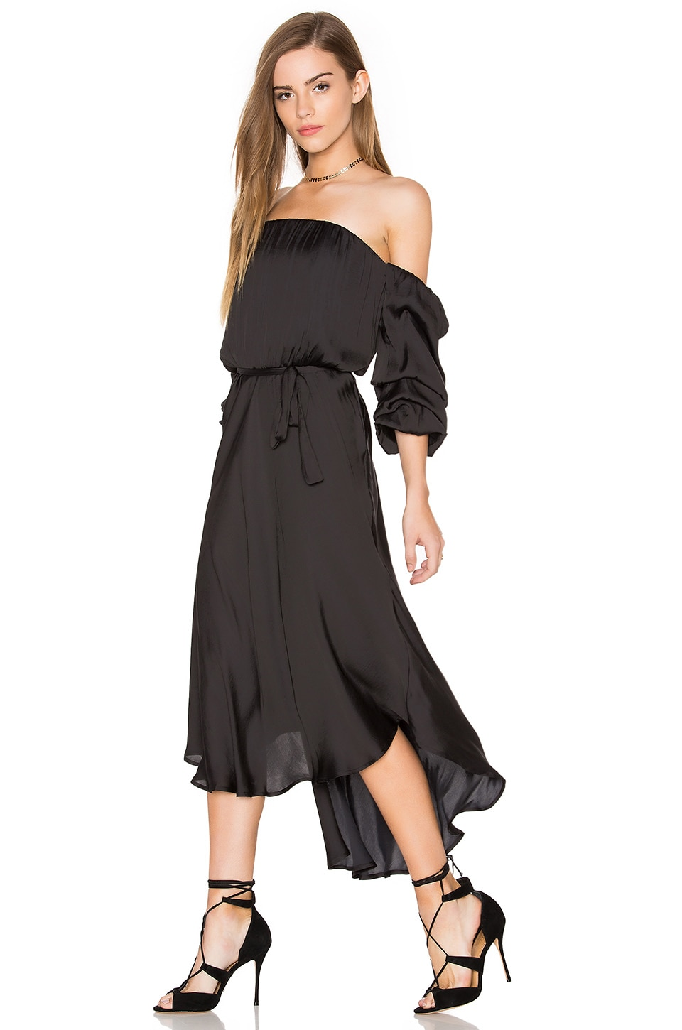 Caught Sleeve Dress by Bardot