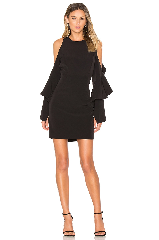 Bardot Ophelia Dress in Black