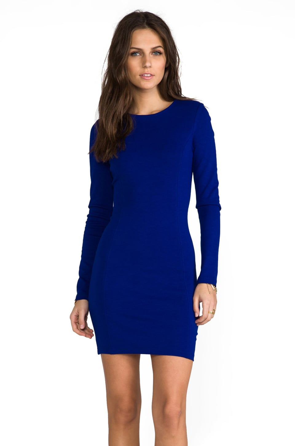 Bardot Lopez Dress in Cobalt