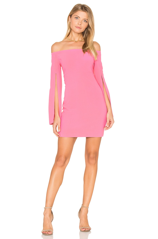 Bardot Ava Dress in Tulip Pink