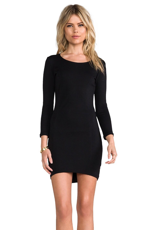 Bardot High Octane Dress in Black
