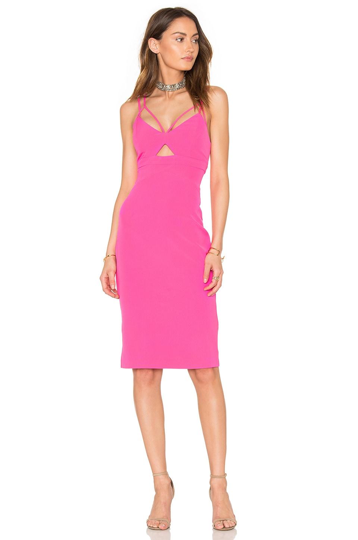 Bardot Cutaway Dress in Gelati