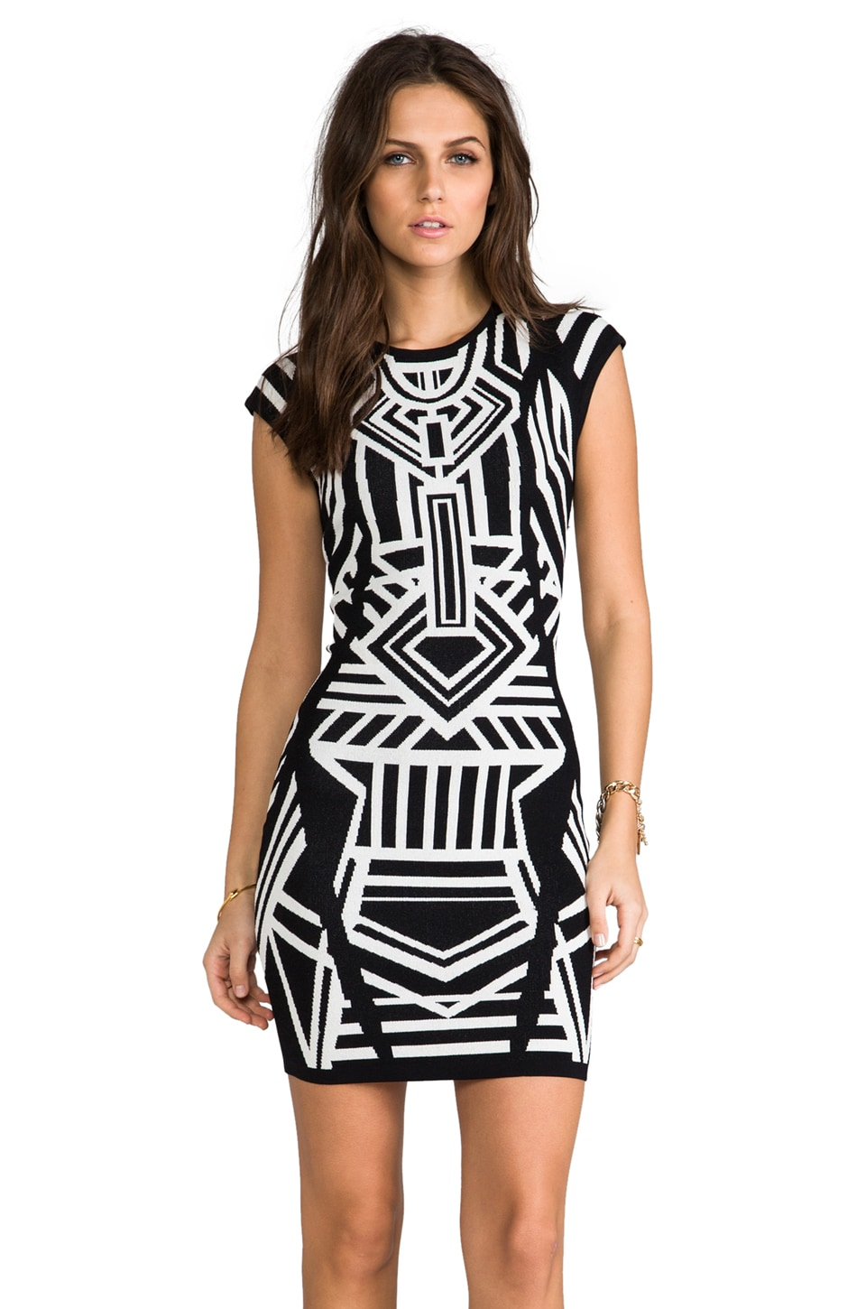 Bardot Tribe Dress in Multi