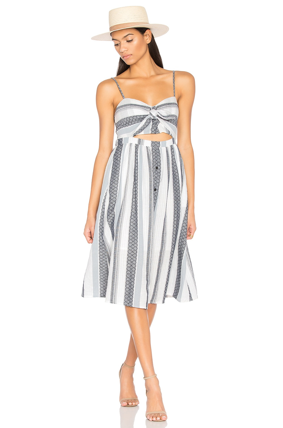 Bardot Ibiza Sundress in Stripe