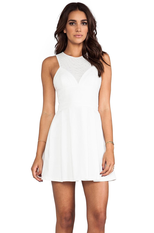Bardot Dancer Dress in White
