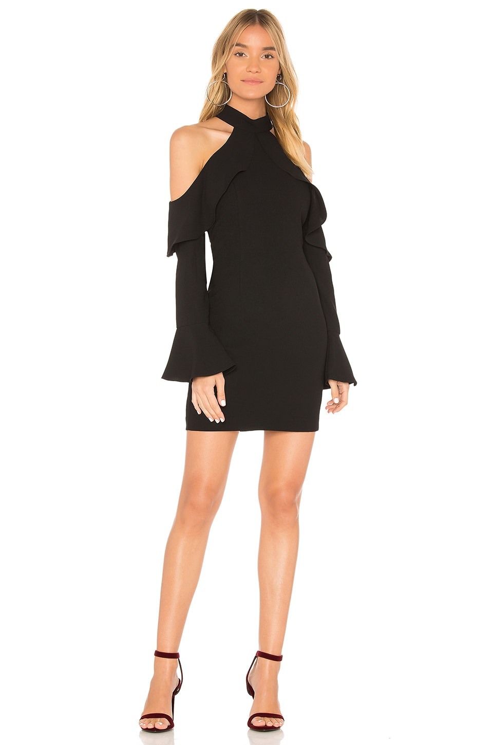 Bardot Nightshade Dress in Black