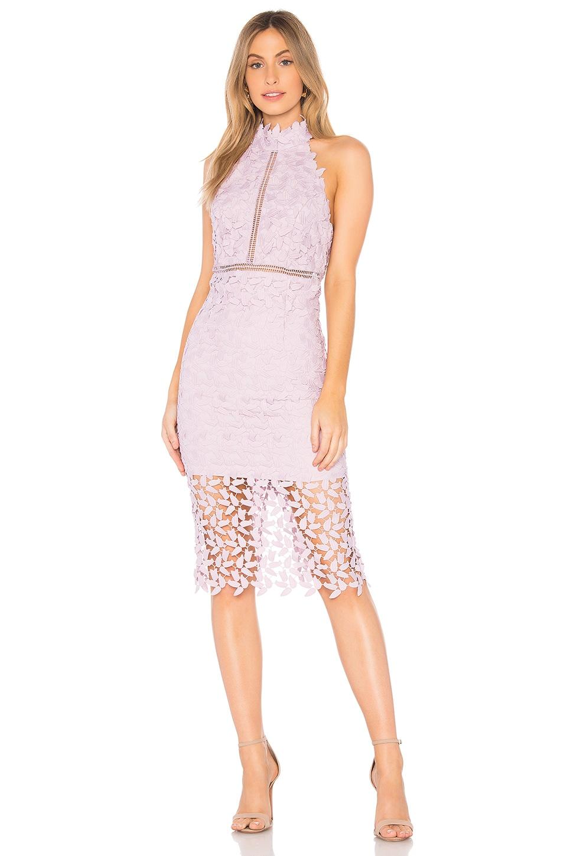 Bardot Gemma Dress in Orchid