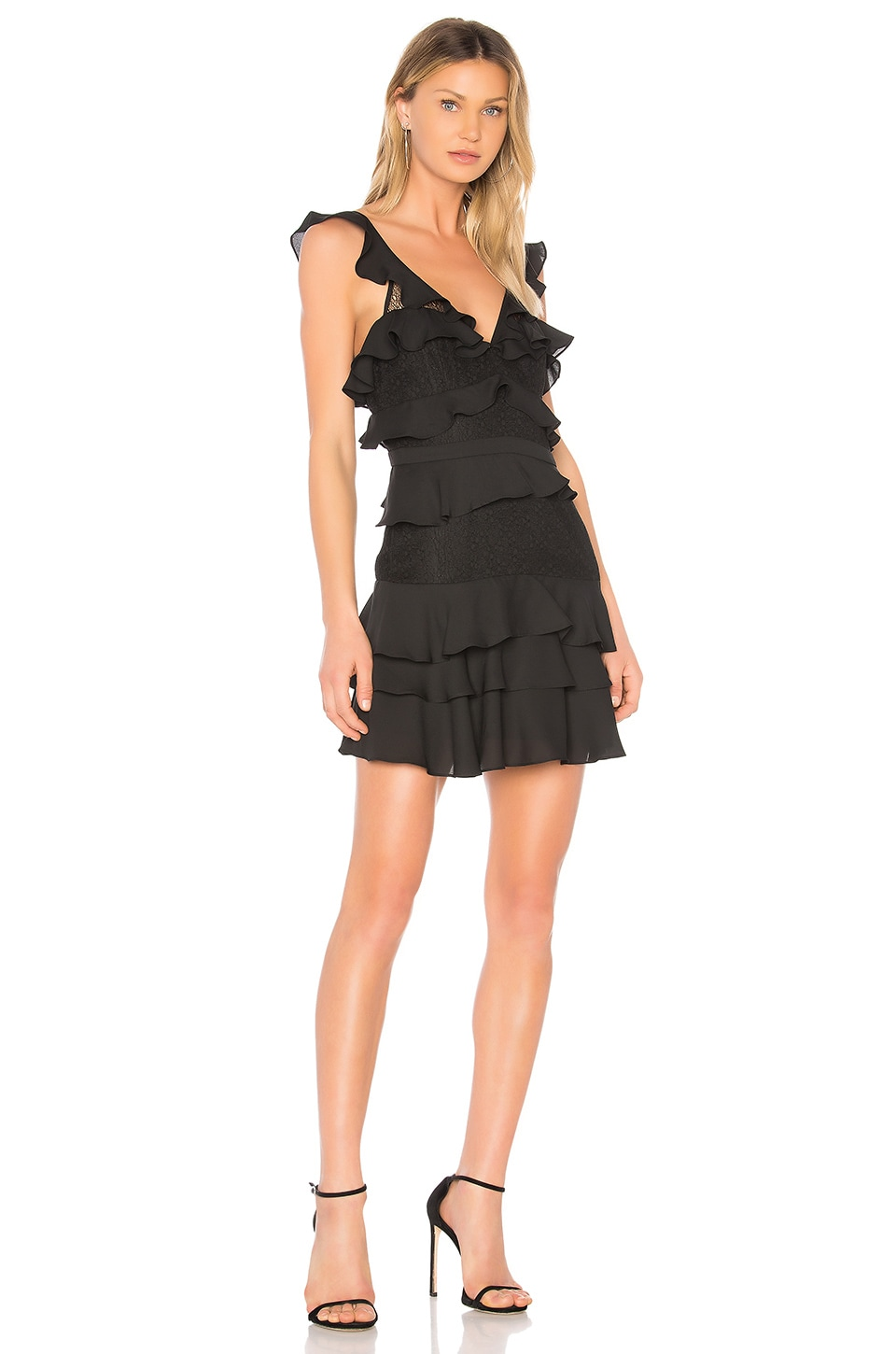 Bardot Babylon Dress in Black