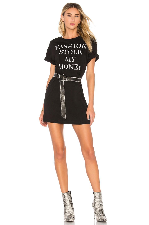 Bardot x REVOLVE Fashion Tee Dress in Black