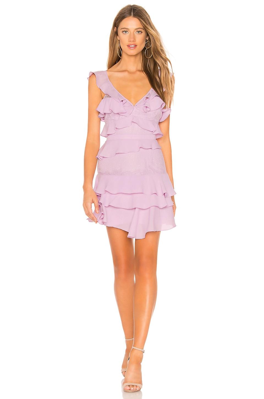 Bardot Babylon Dress in Lilac