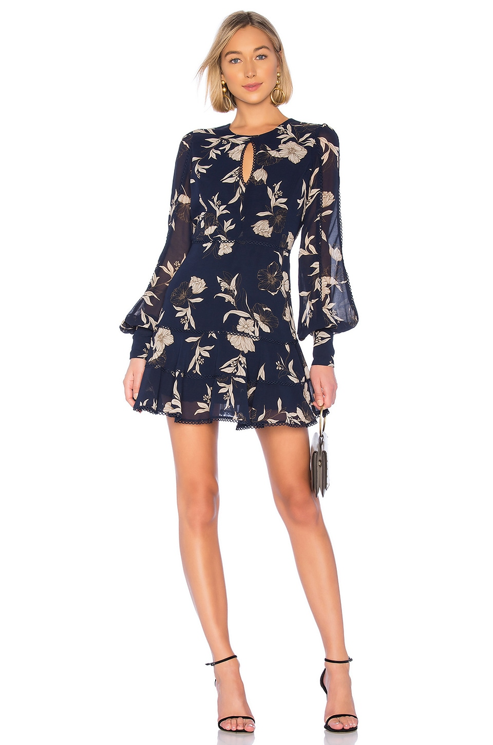 Bardot Tammy Dress in Navy Floral