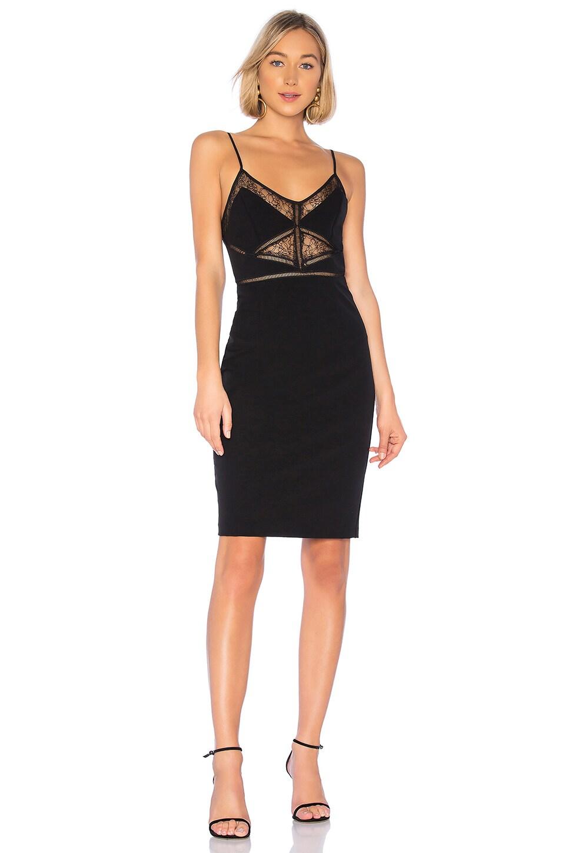 Bardot Jayne Lace Dress in Black