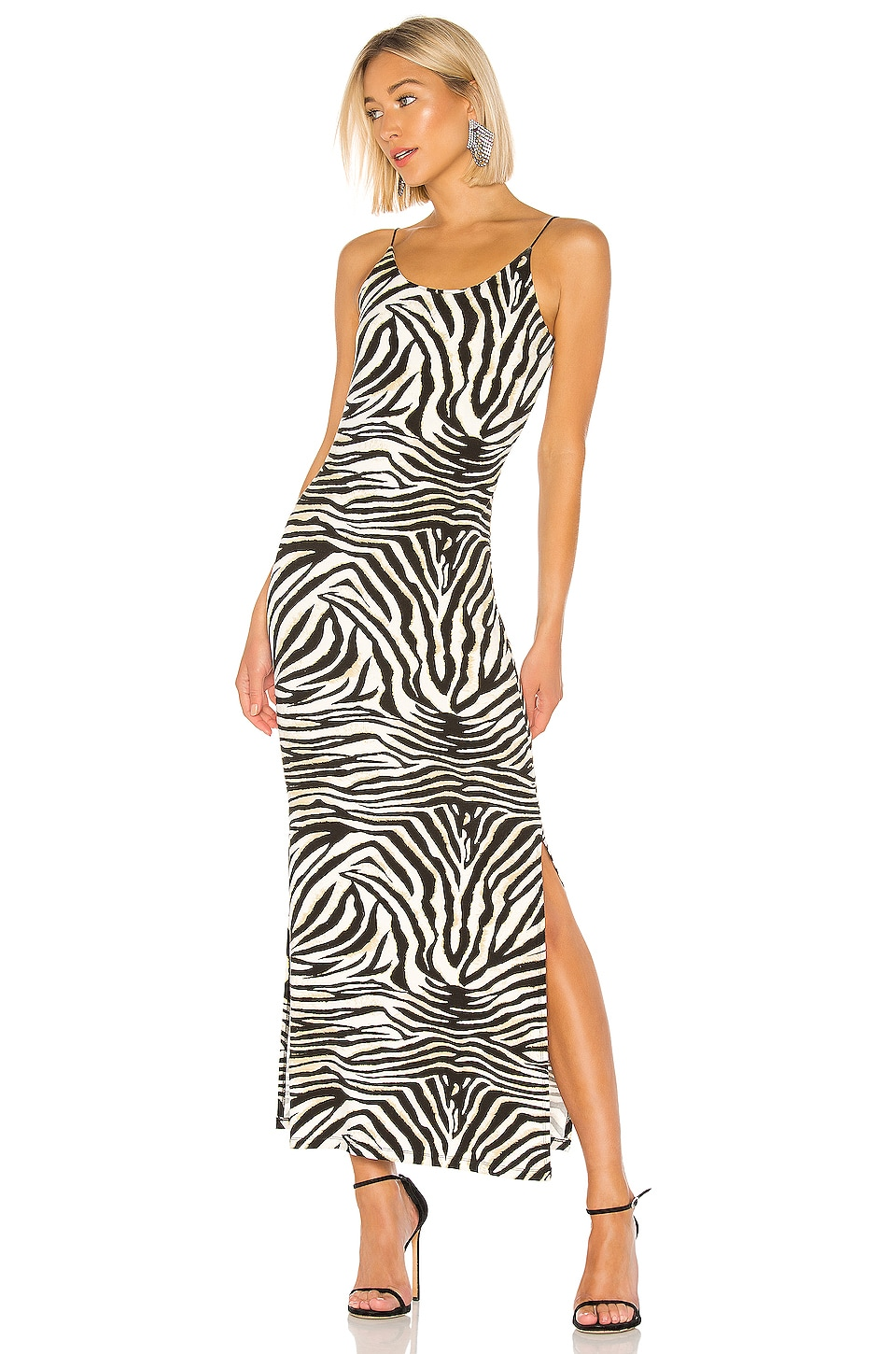 Bardot Zebra Print Dress in Zebra