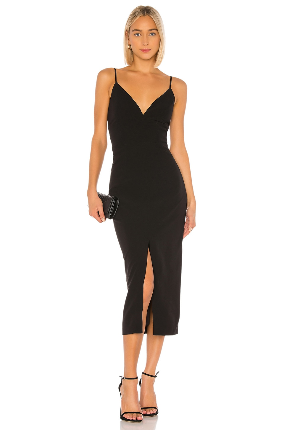 Bardot Dianna Midi Dress in Black