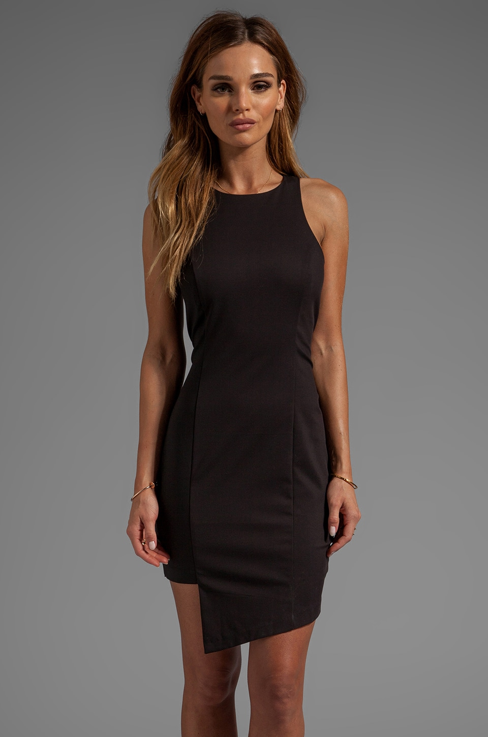 Bardot Razor Dress in Black