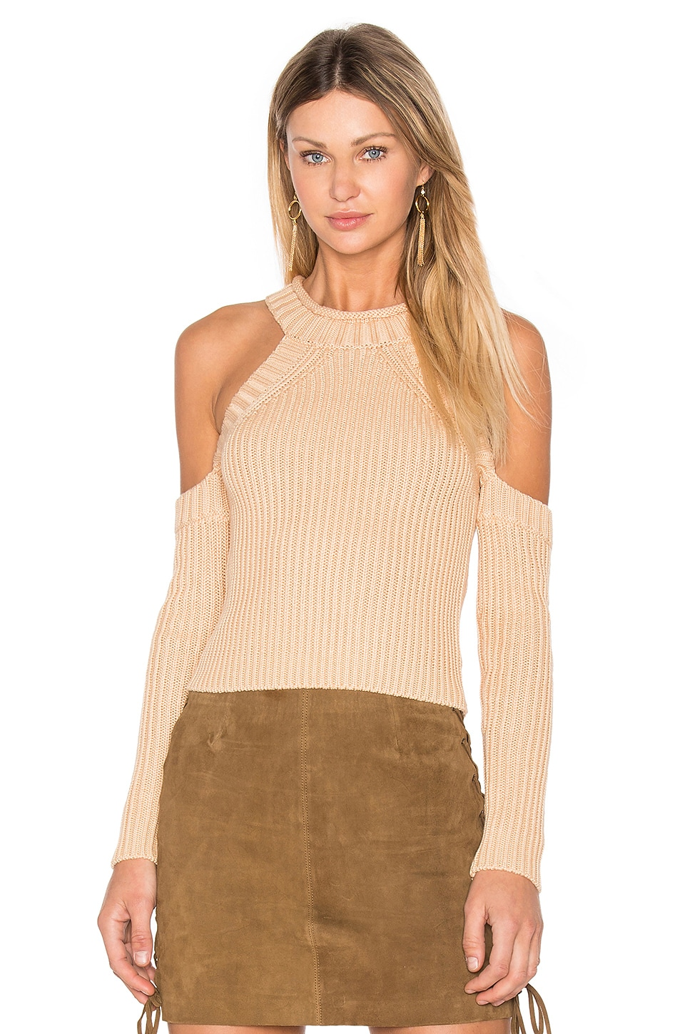 Cold Shoulder Knit by Bardot